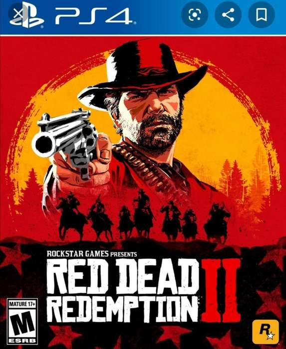 Red Dead Redemption 2 Ps4 Físico