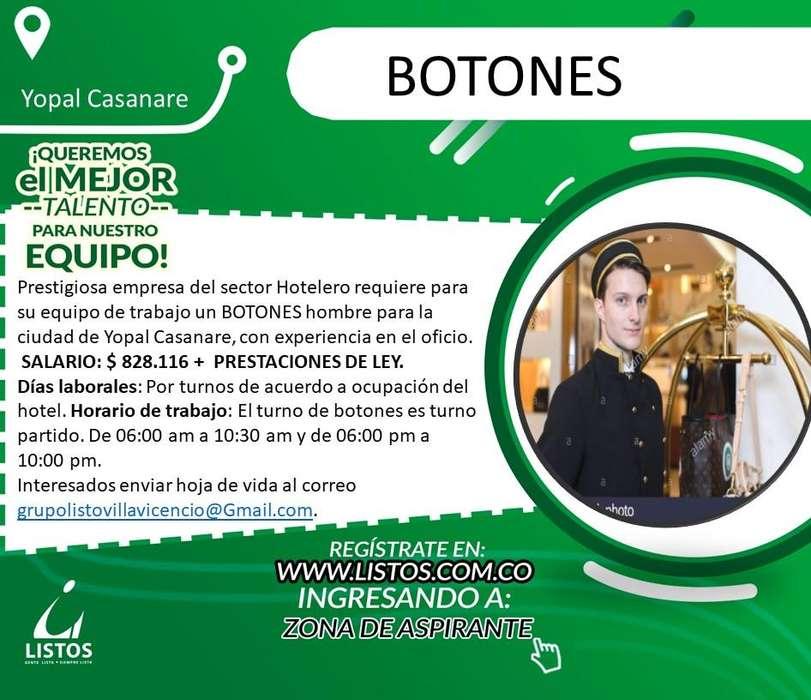 BOTONES PARA HOTEL EN YOPAL