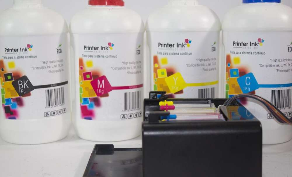 tinta printer ink epson litro L210 L220 L355 L555 L575 Tx Xp W