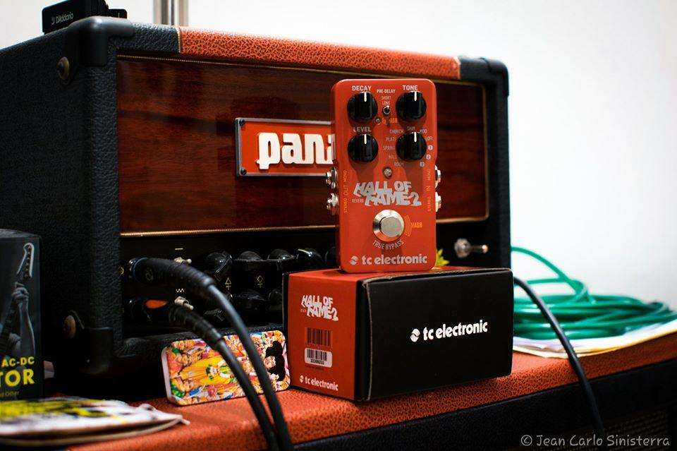 PEDAL REVERB TC ELECTRONIC HALL OF FAME 2