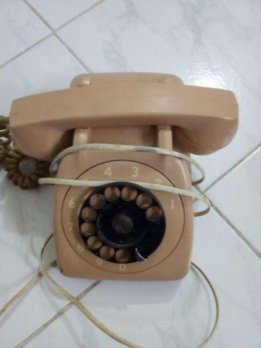 Vintage Antiguo Telefono Años 80 Origina