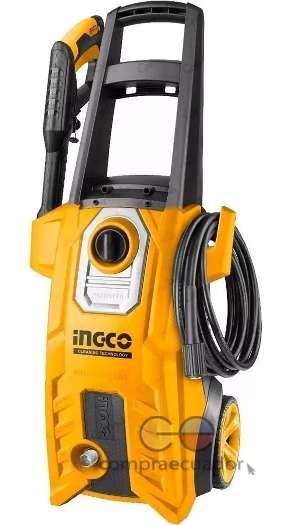 Ingco Hidrolavadora 1800w Presión 150 Bar 2200 Psi