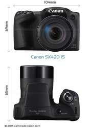 Cámara Canon Powershot Sx420 Zoom 42x Smart Auto Wifi Hd
