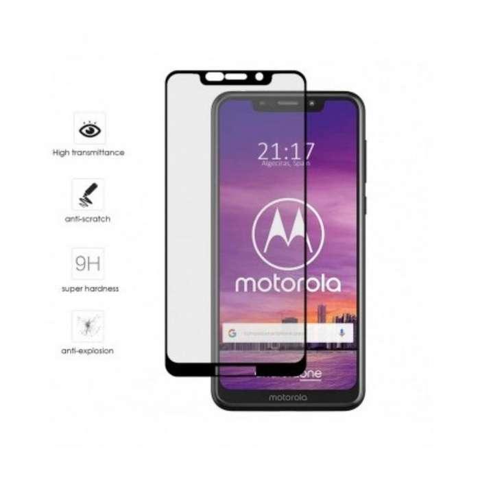 Vidrio Templado 5d para Motorola One