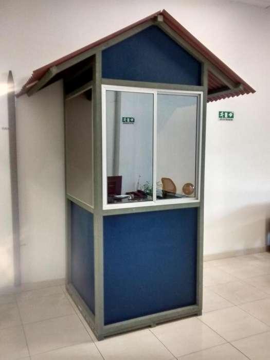 garita caseta en madera plastica 3213878773