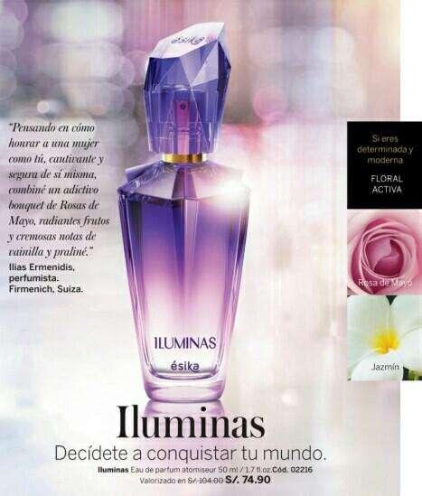 Oferta! Perfume Mujer Iluminas Ésika