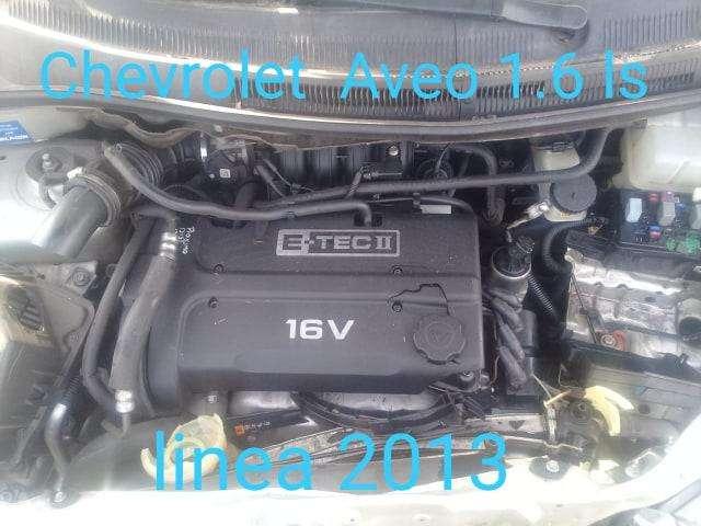 MOTOR CHEVROLET AVEO 1.6 LS LINEA 2013