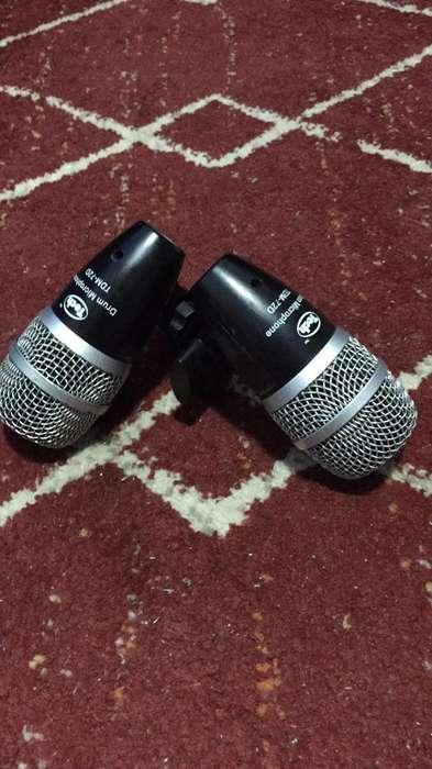 Microfono Voz Y Percusion