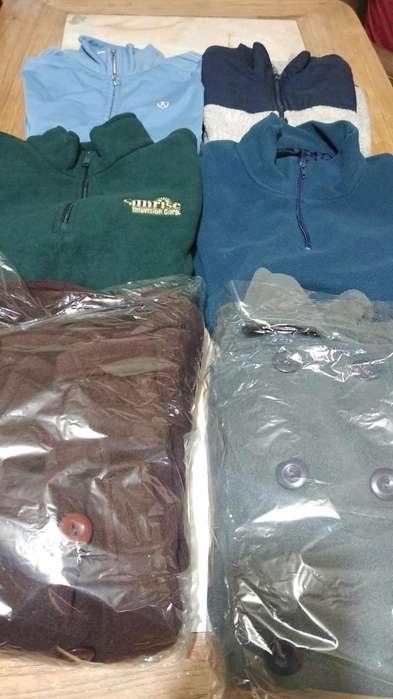 vendo lote de ropa polar nuevas y usadas