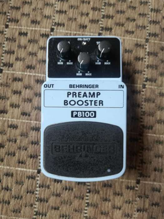Pedal Preamp Booster Pb100