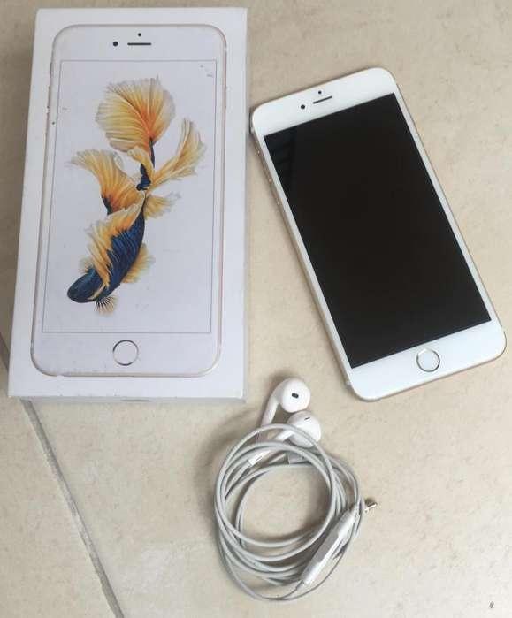 Iphone 6s PLUS dorado COMO NUEVO!