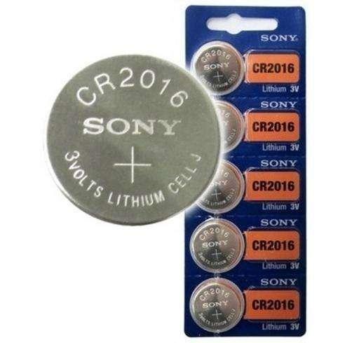Batería Sony Cr1216 3v Litio Paquete por 5 unidades