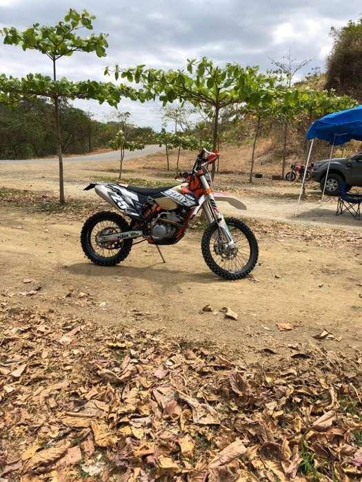 KTM 350 EXC-F 2015 - VERSION 6 DAYS ARGENTINA - EXCELENTE ESTADO