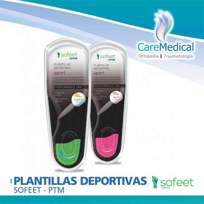 Plantillas Deportivas Sofeet - PTM - Ortopedia Care Medical