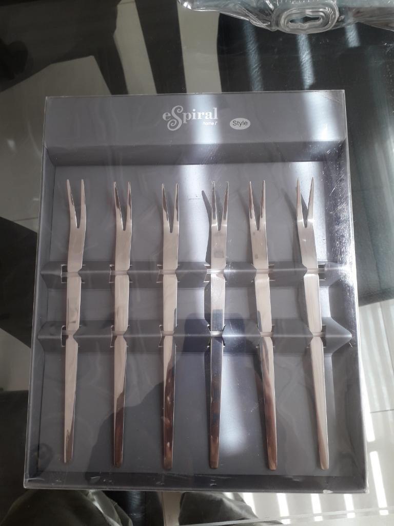 Set de Tenedores Fruta en Espiral