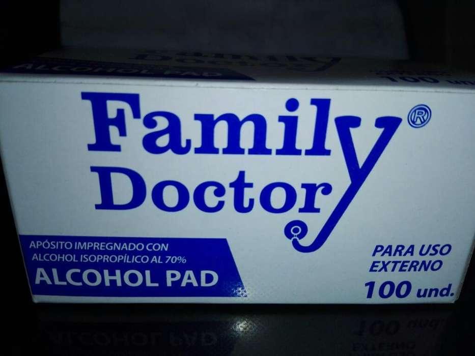 Alcohol Pad Isopropiloco Sachets