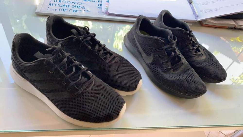 Zapatos Adidas Nike Original Usados