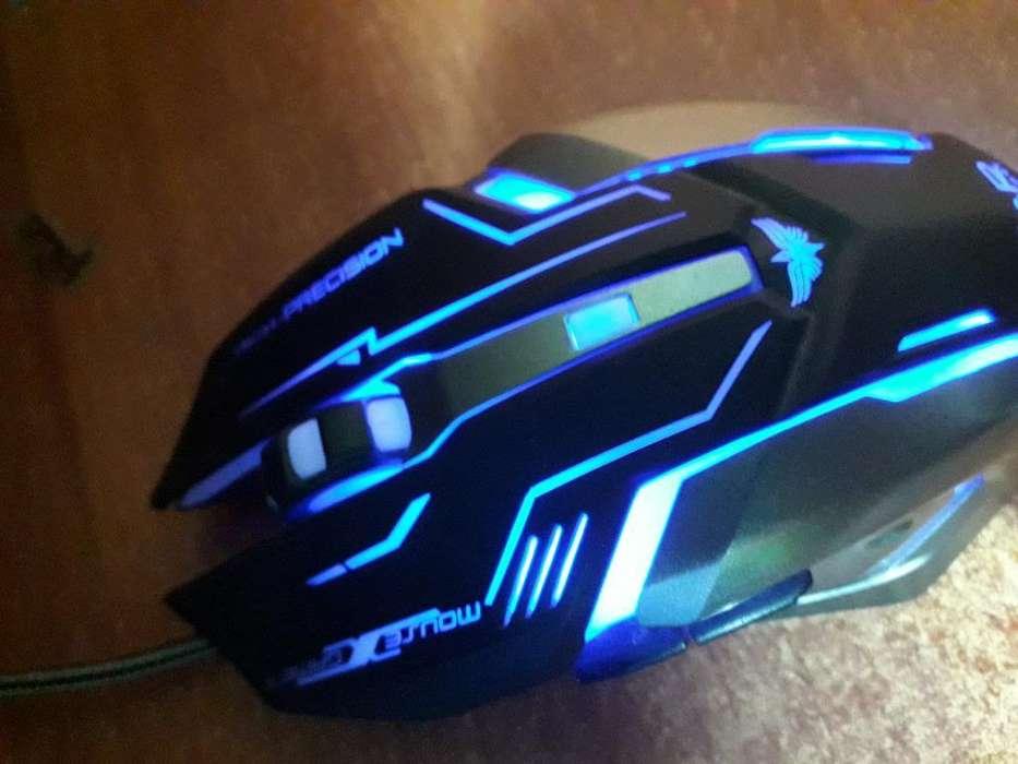 Mouse Gamer Rgb J&r