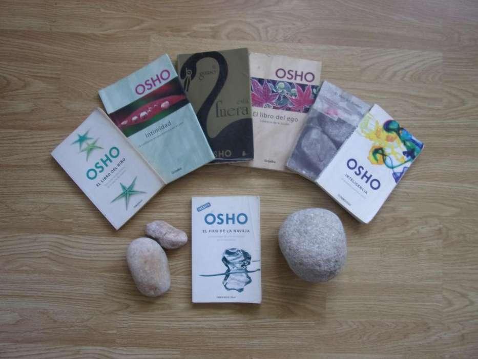 VARIOS LIBROS DE OSHO MAS UNO INEDITO