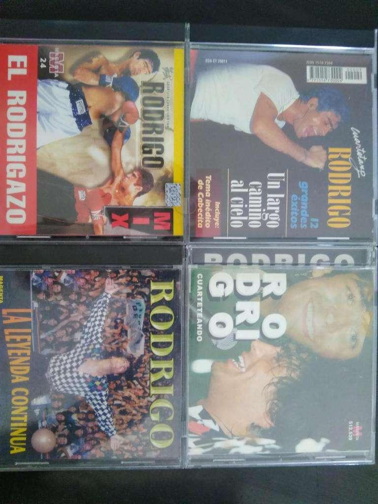 RODRIGO EL POTRO 4 CD NUEVOS Y ORIGINALES