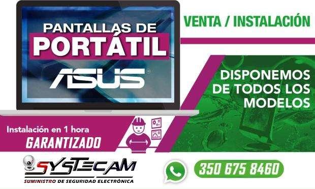 Pantalla de portatil Asus variado modelos y series