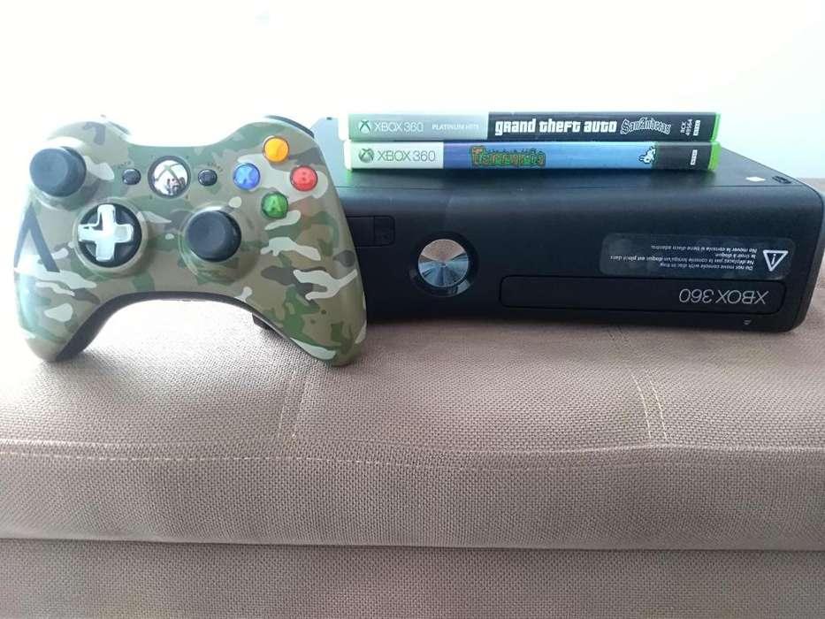 Vendo Xbox 360 y 2 juegos