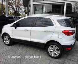 Ford Eco Sport Titanium Automatico */ 350000  Cuotas /*