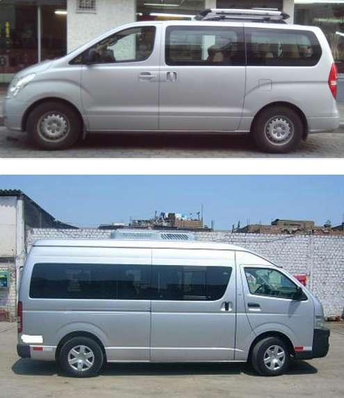 nuestros Clientes, contamos con una flota de vans acondicionadas para brindar comodidad y seguridad durante el traslado,