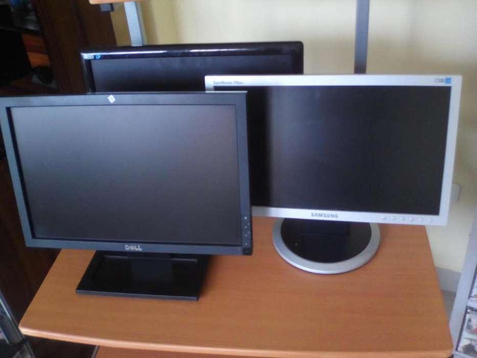 MONITORES LCD 15, 17 PULGADAS MARCA DELL LENOVO HP SAMSUNG OTRASA MARCAS