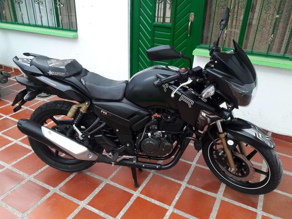 Moto Apache 180cc Como Nueva Ppls Al Dia