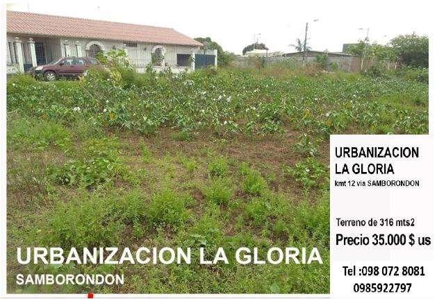 Gran terreno en la Gloria a poca distancia del Riocentro El Dorado