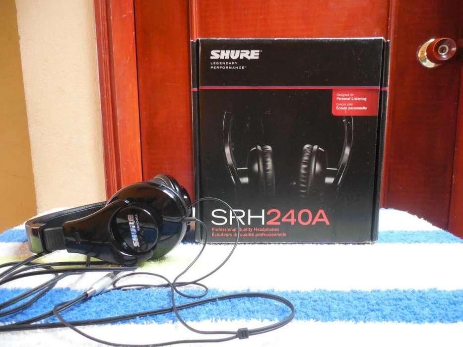 AUDIFONOS SHURE Srh240A PROFESIONALES