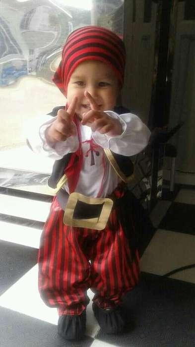 Vendo disfraz de pirata