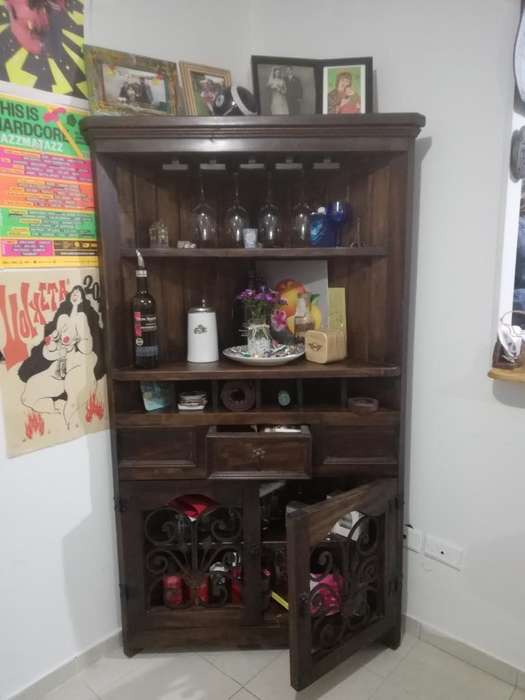 Mueble Esquinero Tipo Bar