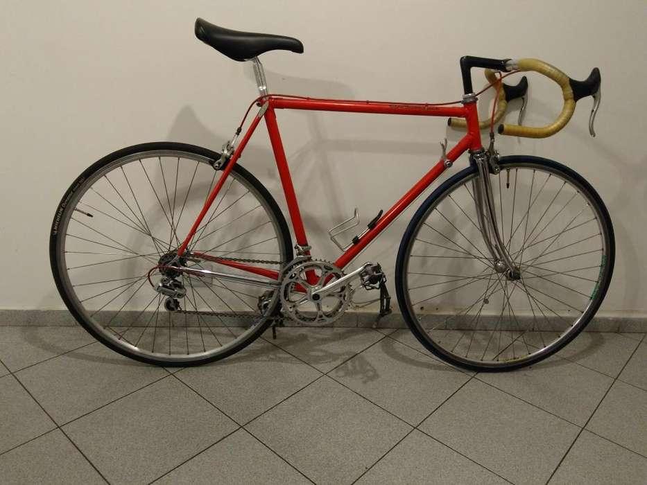 Bicicleta Ruta Lopez Alvarez Shimano 105 Vintage Antigua