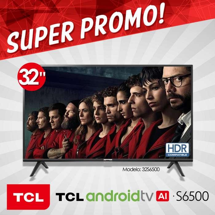 Televisor Tcl Smart Tv 32 Pulgadas Hdr Android Bluetooth
