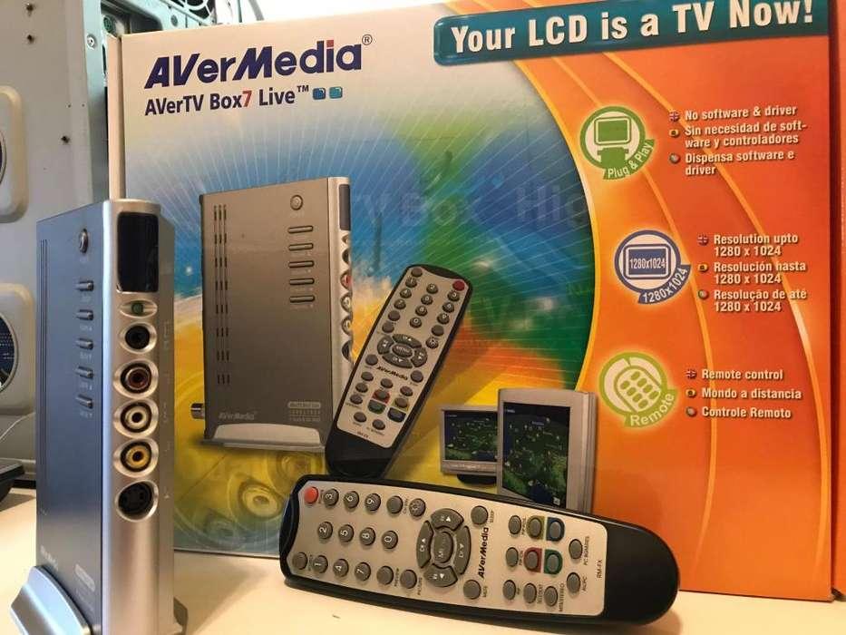 Transformá tu monitor en TV! AVerMedia AVerTV Box7 Live