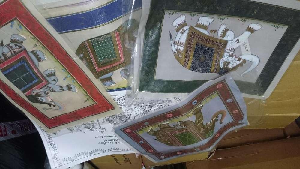 pinturas artesanales de india