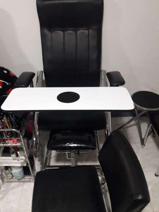 <strong>silla</strong> de Manicura Pedicura