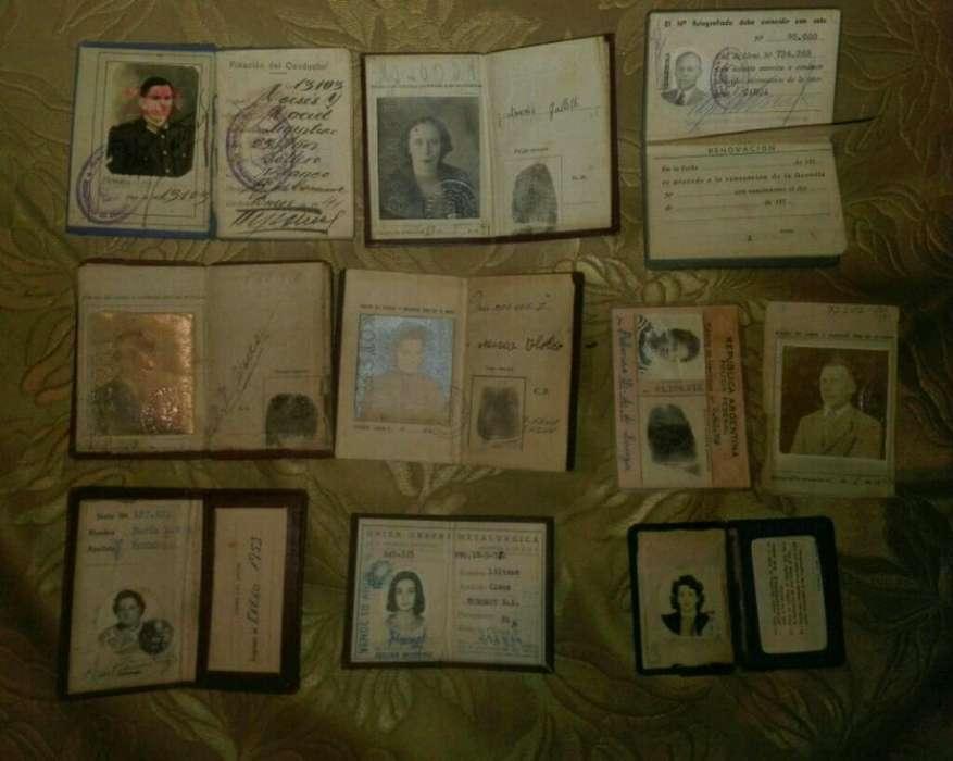 Lote Documentos Antiguos