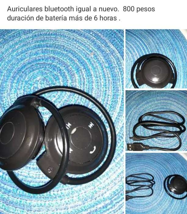 Auriculares Bluetooth .impecables
