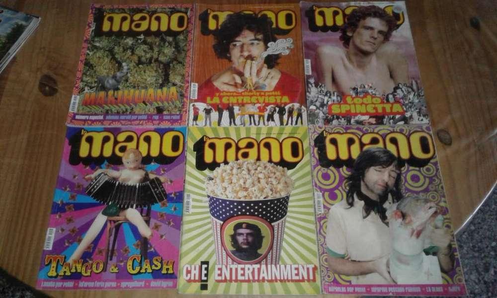 Revistas La Mano y THC