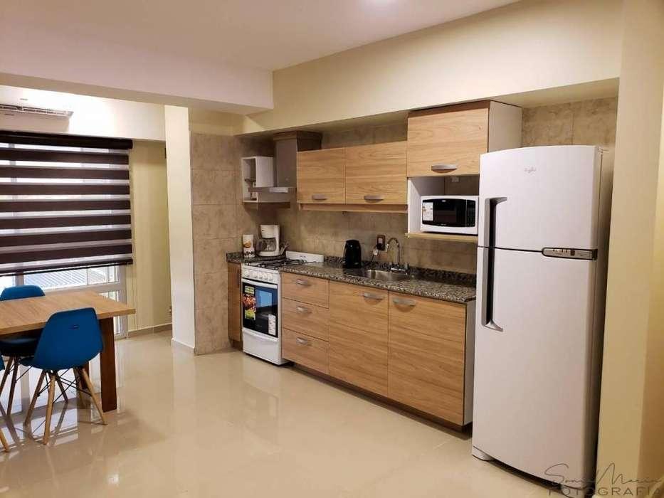 nl99 - Departamento para 2 a 4 personas con cochera en San Rafael