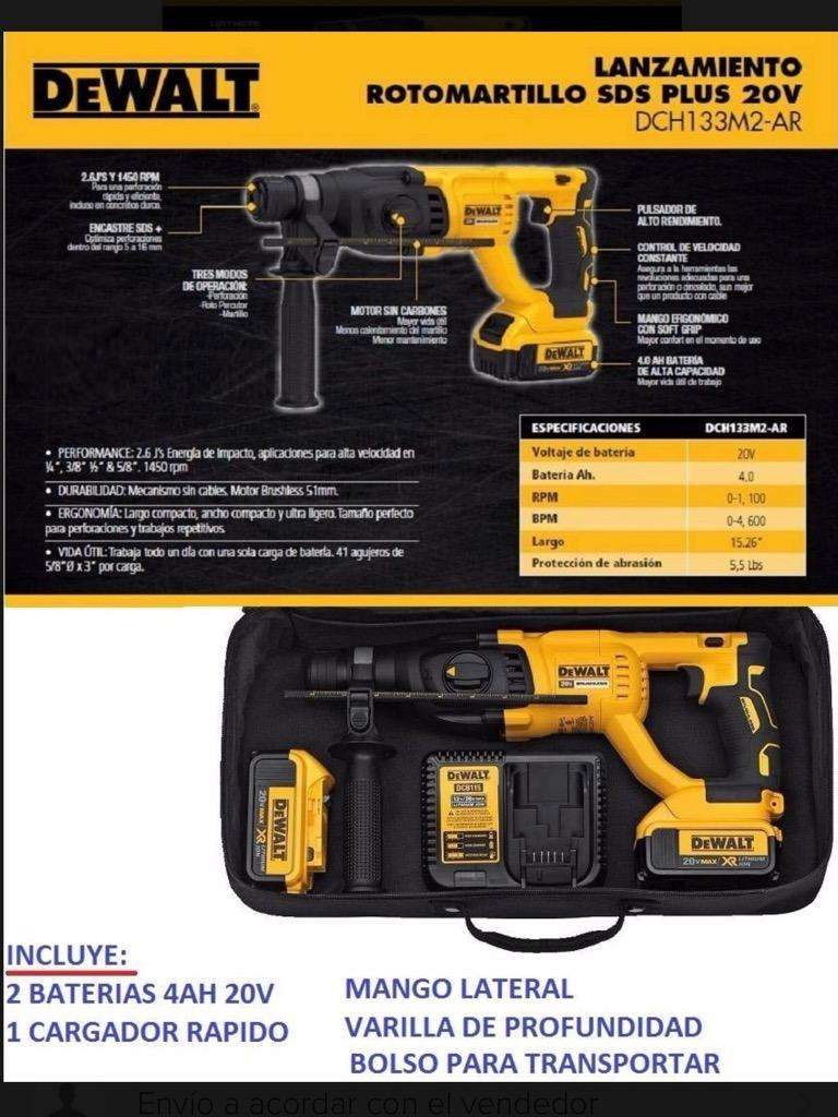 Rotomartillo Dewalt 133