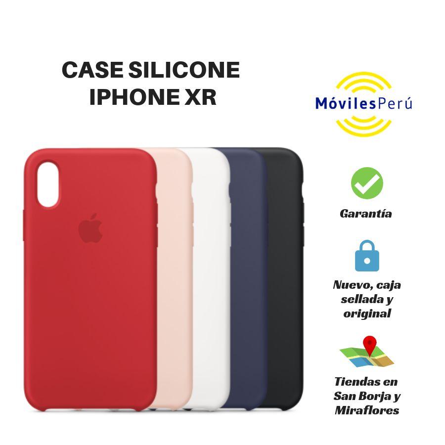 CASE SILICONE IPHONE XR NUEVO, ORIGINAL, TIENDAS FÍSICAS