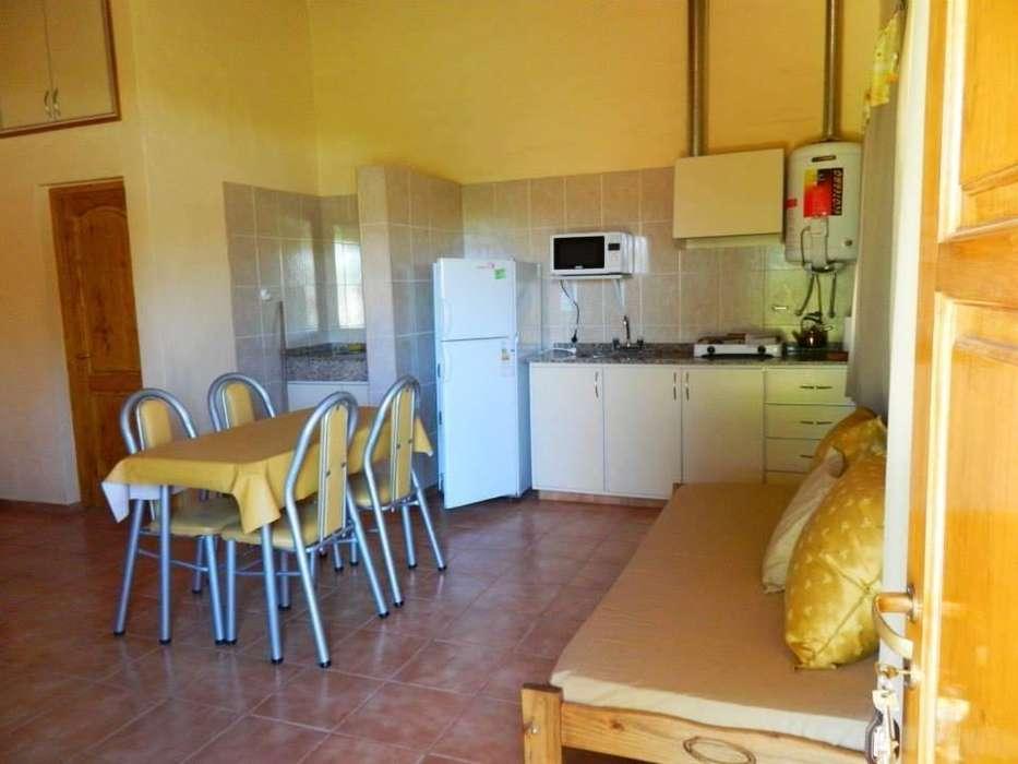 hh54 - Cabaña para 2 a 8 personas con pileta y cochera en San Rafael
