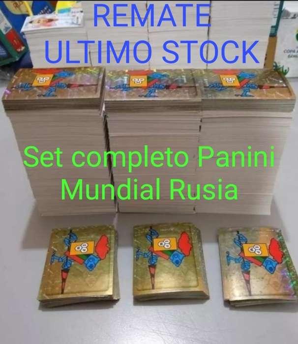 Mundial Rusia - Panini Set Completo