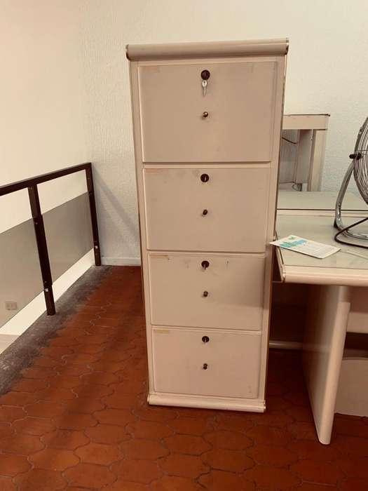 Completo Juego de Muebles Para Oficina en Madera