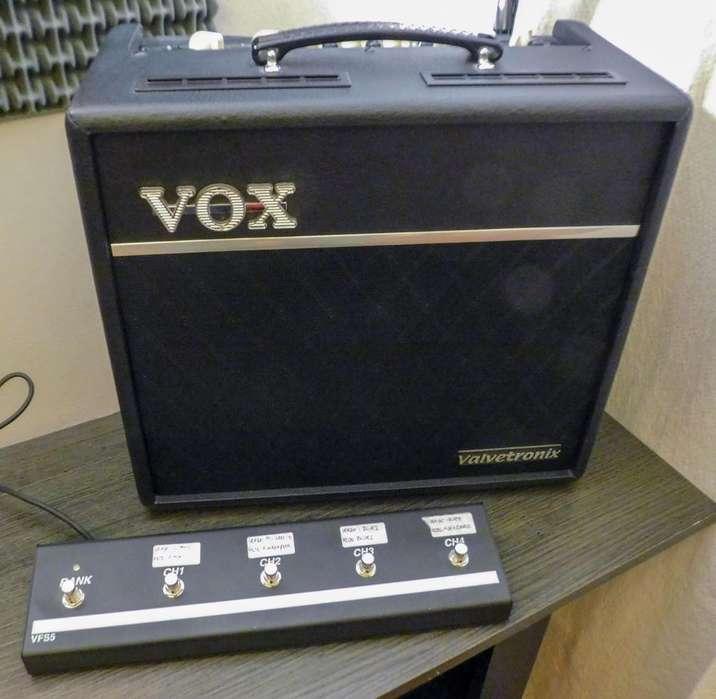 Amplificador Vox Valvetronix VT40 Footswitch VFS5