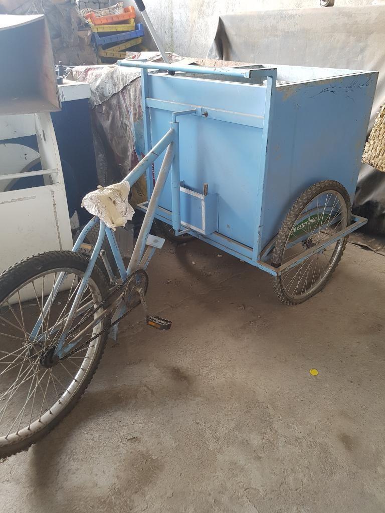 Vendo Triciclo para Comida
